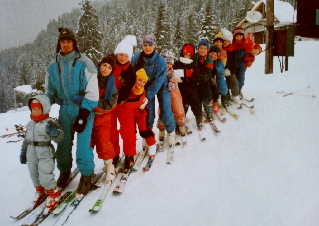 Prima Tabara de ski