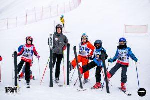 copii la ski in tabara de ski Italia