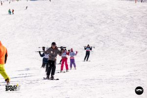 antrenament tabara de ski Italia