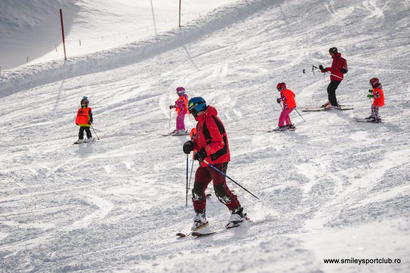 Tabara de ski copii