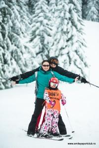 Tabere de ski cu parinti