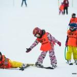 Copii in tabara de schi
