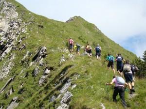 Tabara de aventura la munte