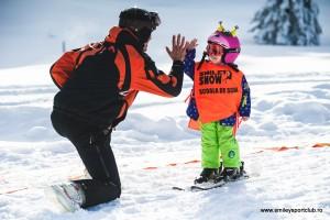 curs ski copii gradinita