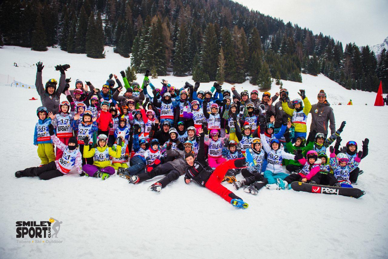 Tabara de ski si snowboard Italia