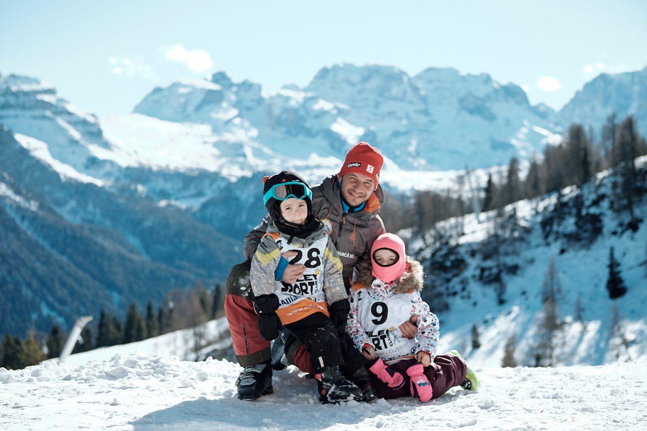 copii in vacanta ski