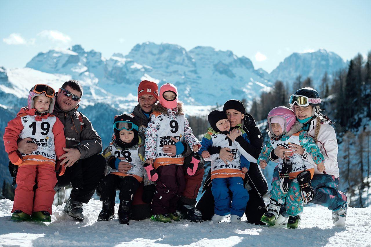 grupe copii vacanta ski