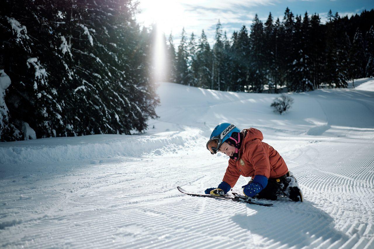 copil in vacanta ski Austria
