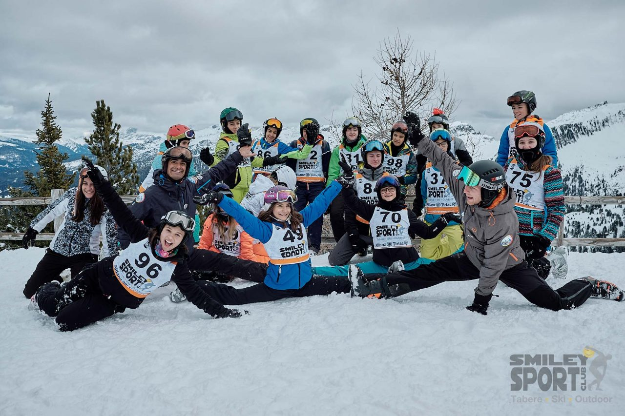 abere de ski - grupe copii
