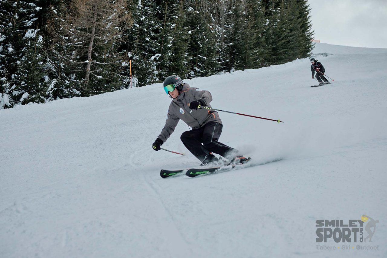 tabere de ski - monitor profesionist